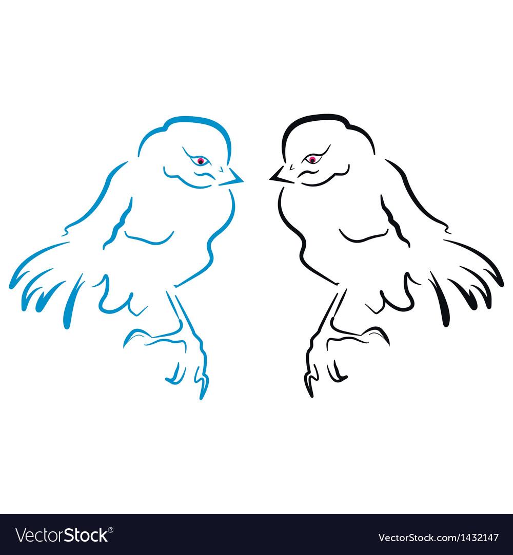 Birds sillhouette vector   Price: 1 Credit (USD $1)