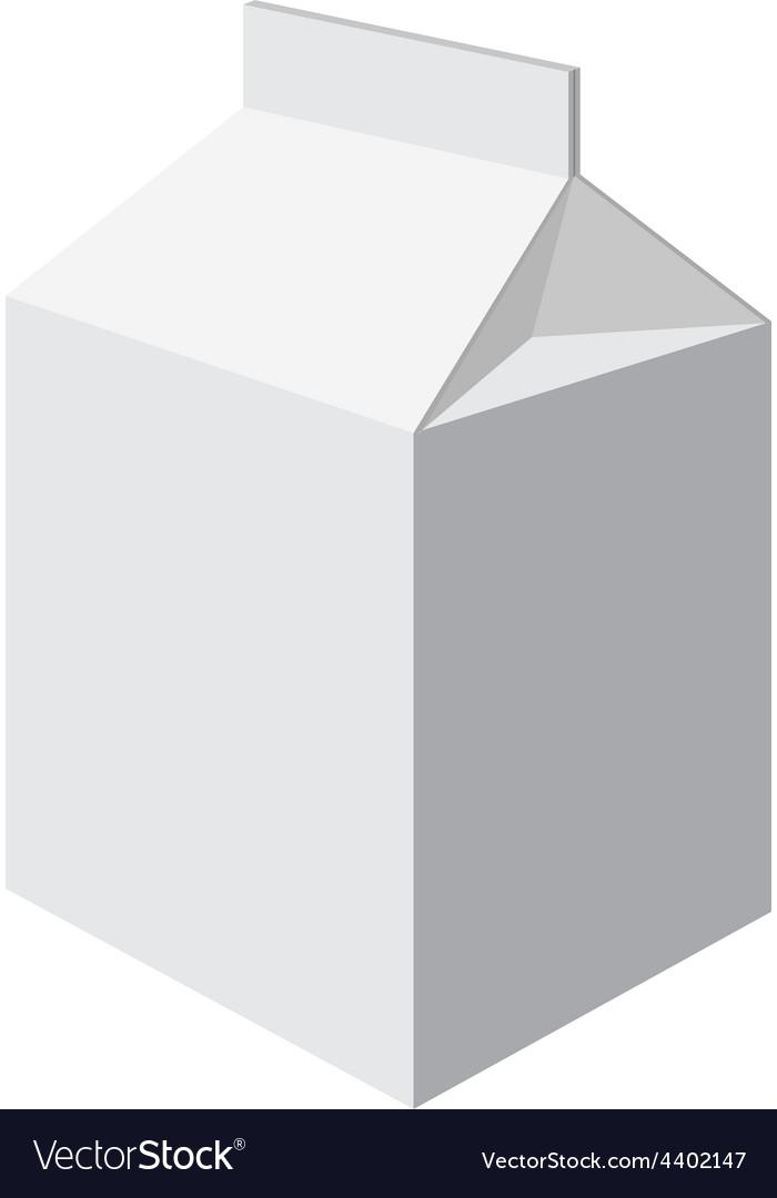 Milk packet vector | Price: 1 Credit (USD $1)