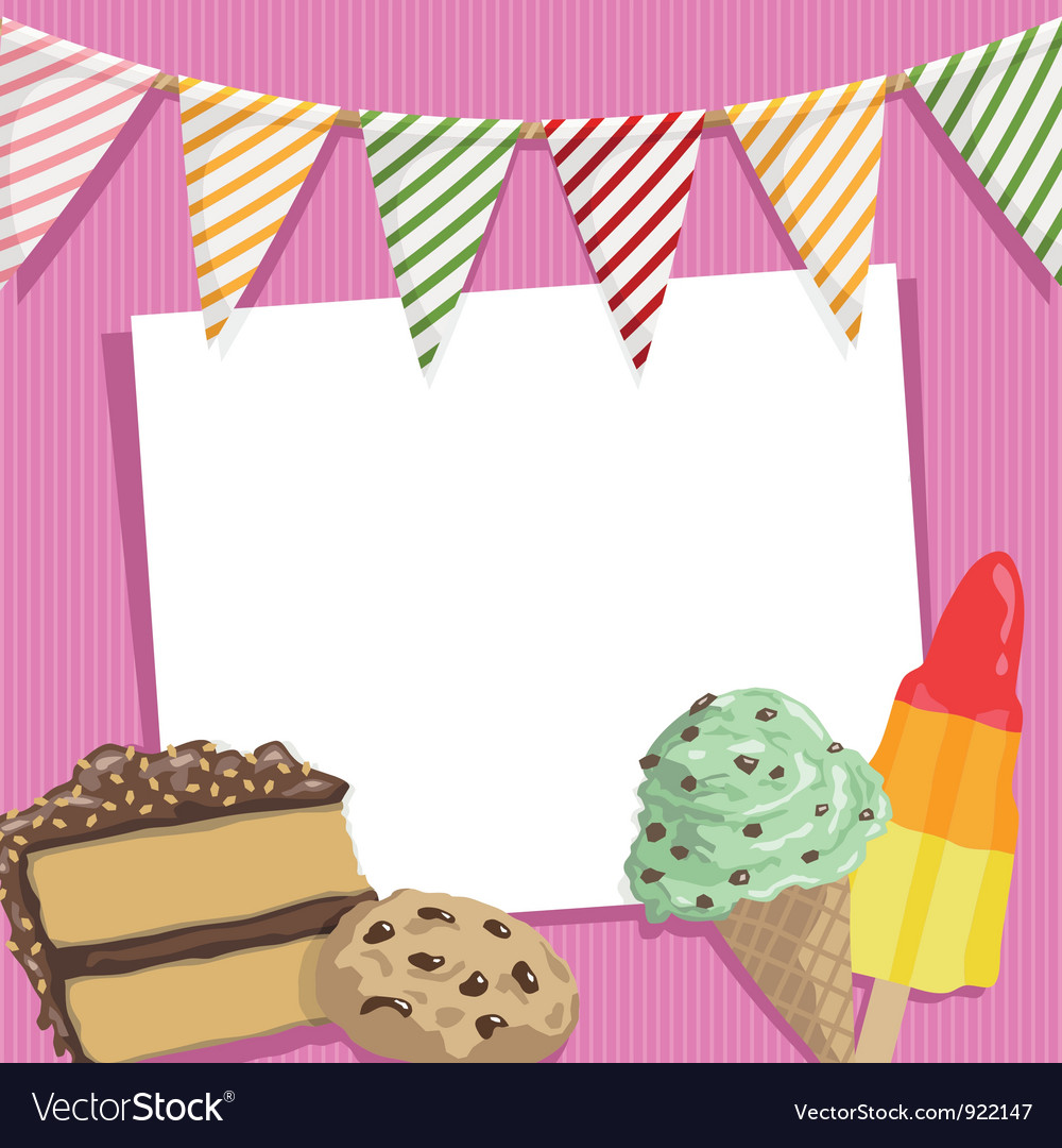 Party card vector | Price: 1 Credit (USD $1)