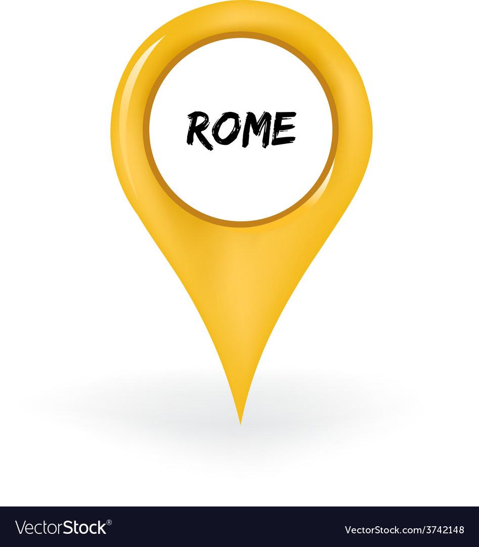 Location rome vector | Price: 1 Credit (USD $1)