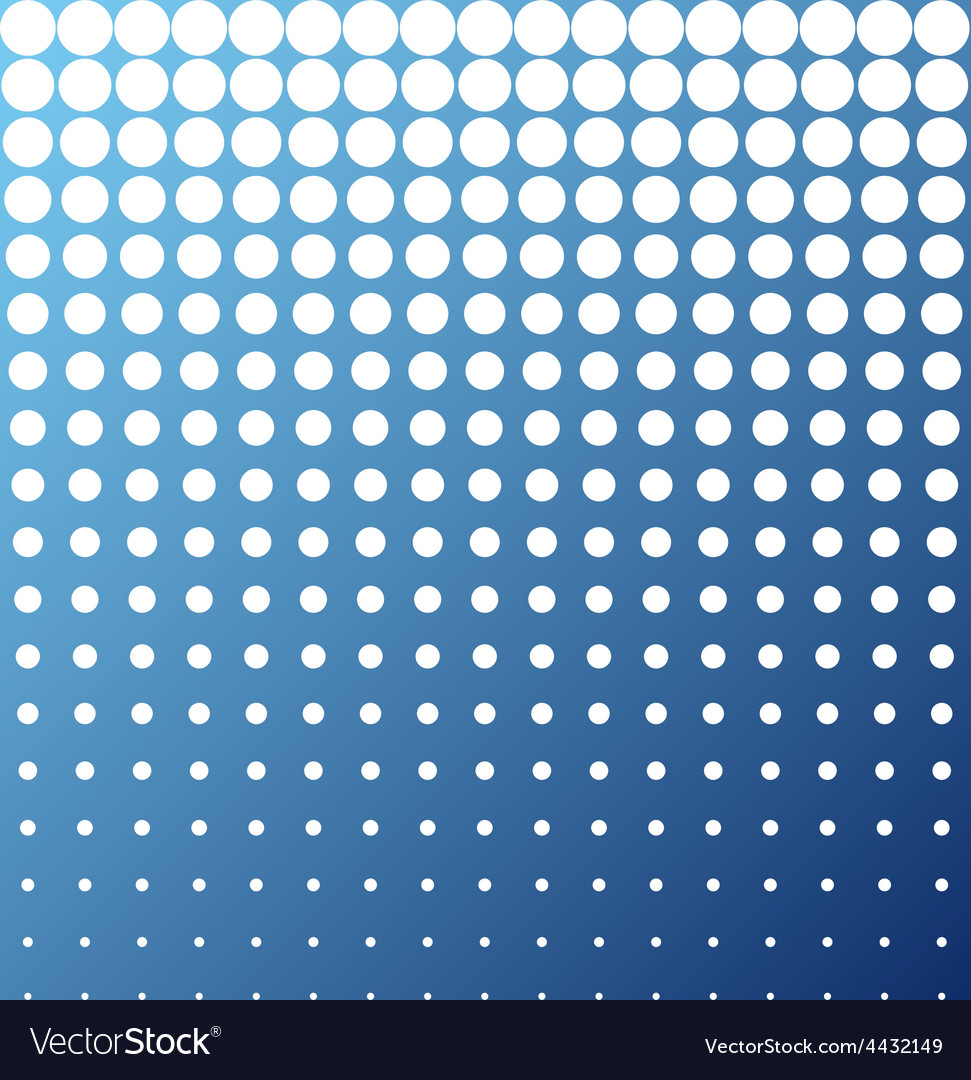 Abstract background white blue halftone vector | Price: 1 Credit (USD $1)