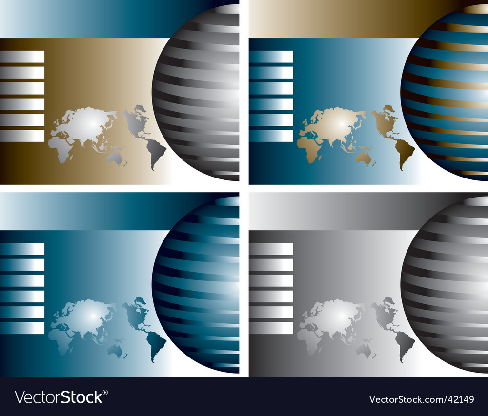 Globe backgrounds vector | Price: 1 Credit (USD $1)