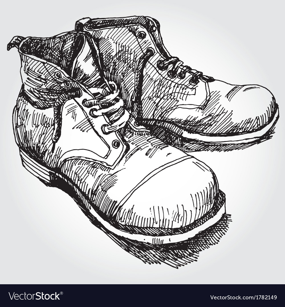 Old boots vector | Price: 1 Credit (USD $1)