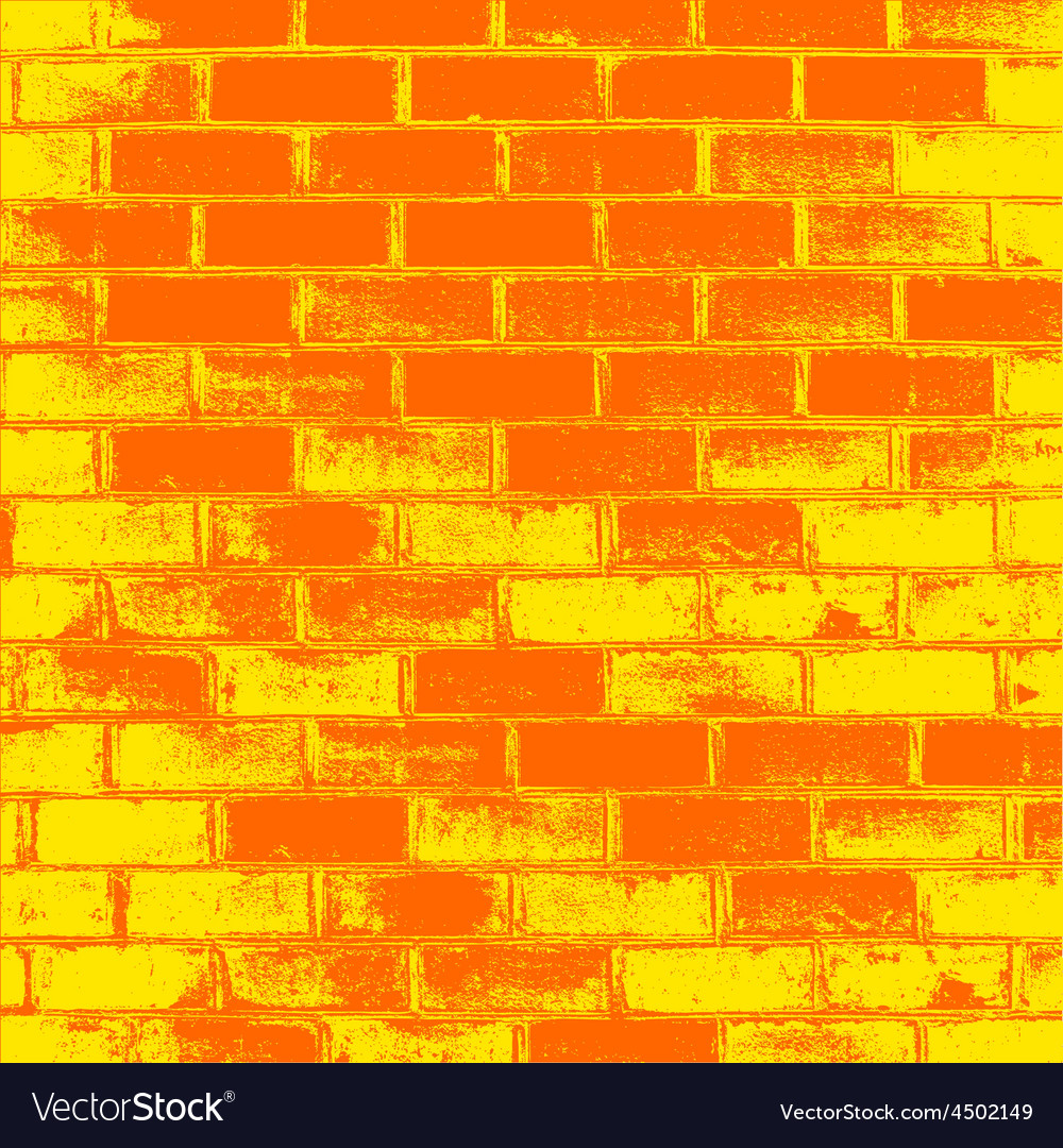 Red brick wall of the house with lines of a vector | Price: 1 Credit (USD $1)