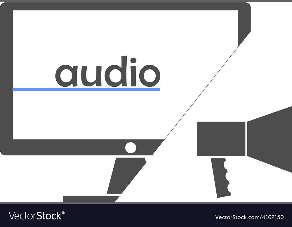 - audio vector | Price: 1 Credit (USD $1)