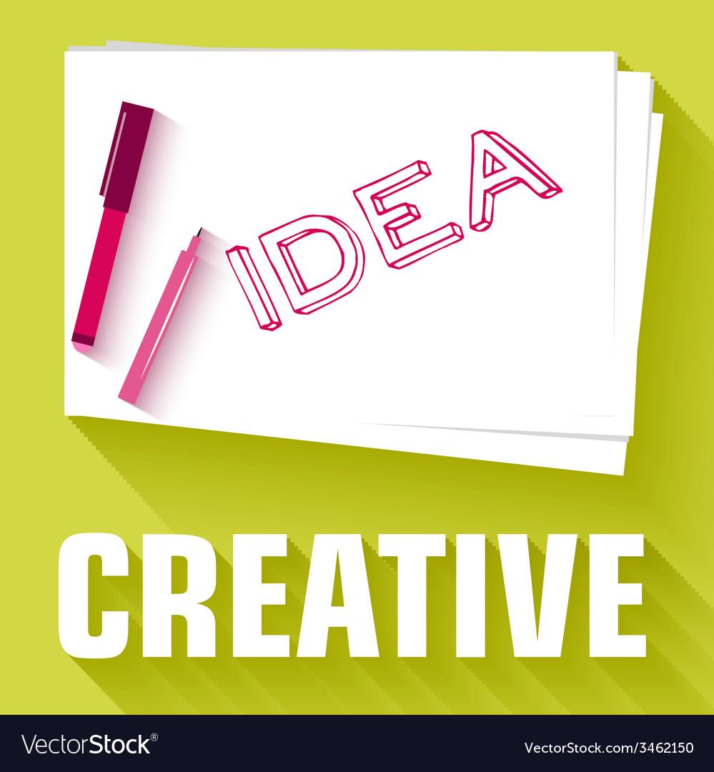 Idea card business background concept desig vector   Price: 1 Credit (USD $1)