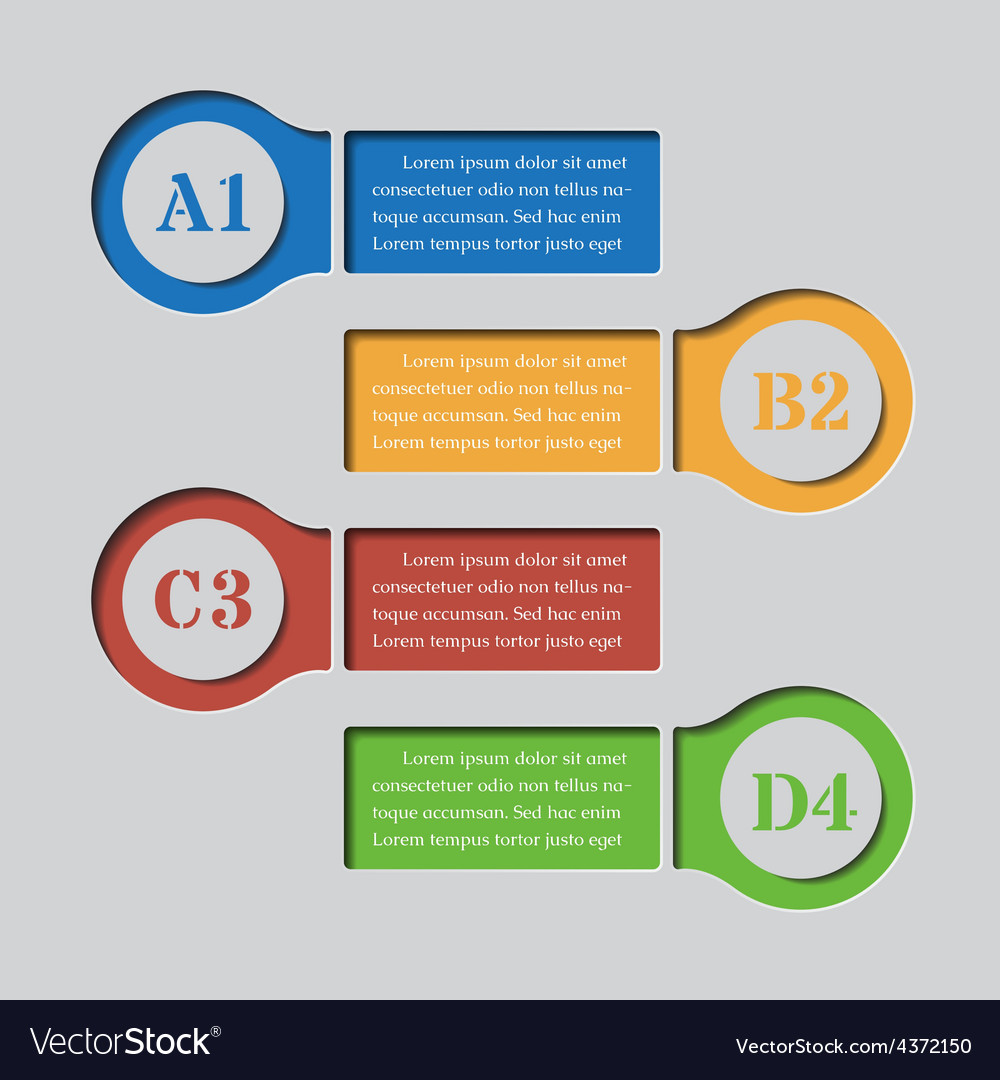 Infographics banners - design templates vector | Price: 1 Credit (USD $1)