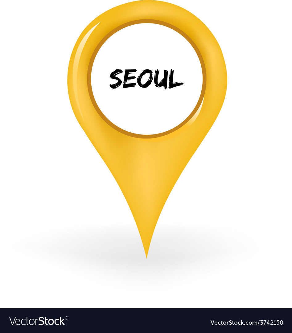 Location seoul vector | Price: 1 Credit (USD $1)