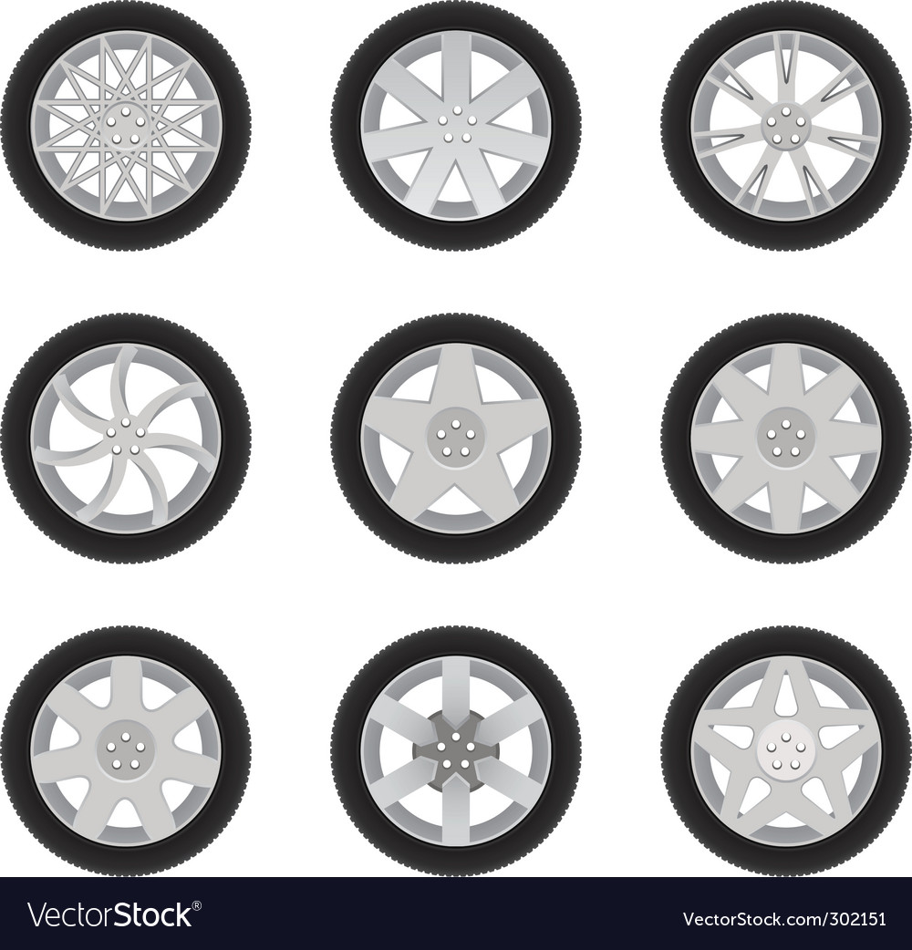 Car discs vector | Price: 1 Credit (USD $1)