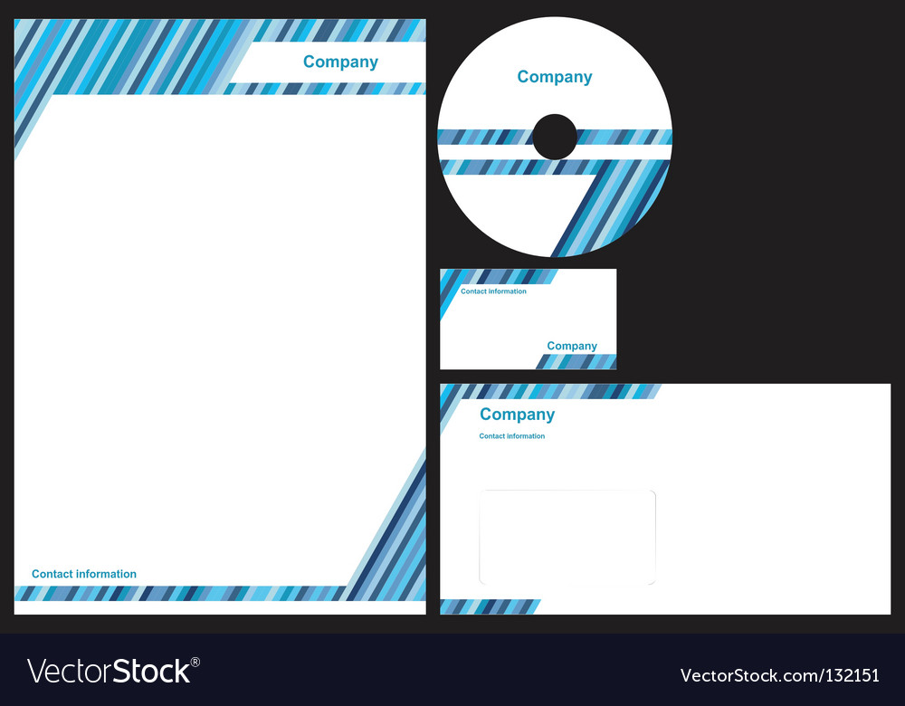Corporate identity package vector | Price: 1 Credit (USD $1)