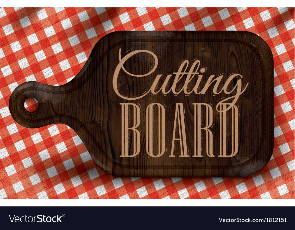 Cutting board vector | Price: 1 Credit (USD $1)