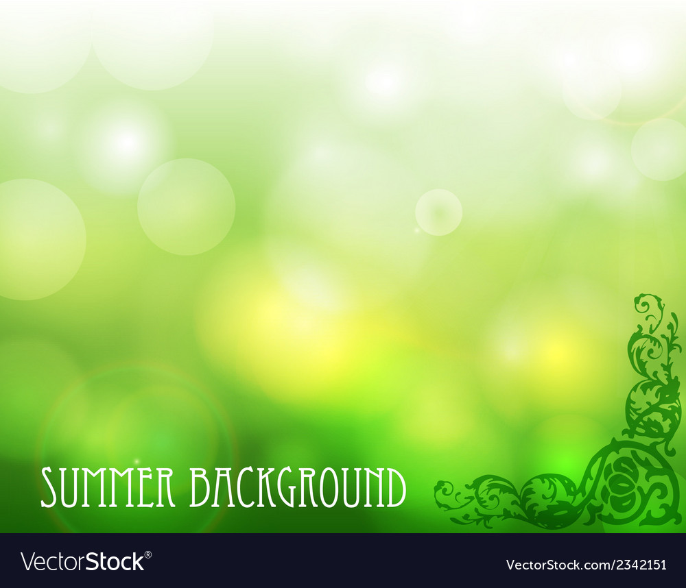 Green ecological background vector | Price: 1 Credit (USD $1)