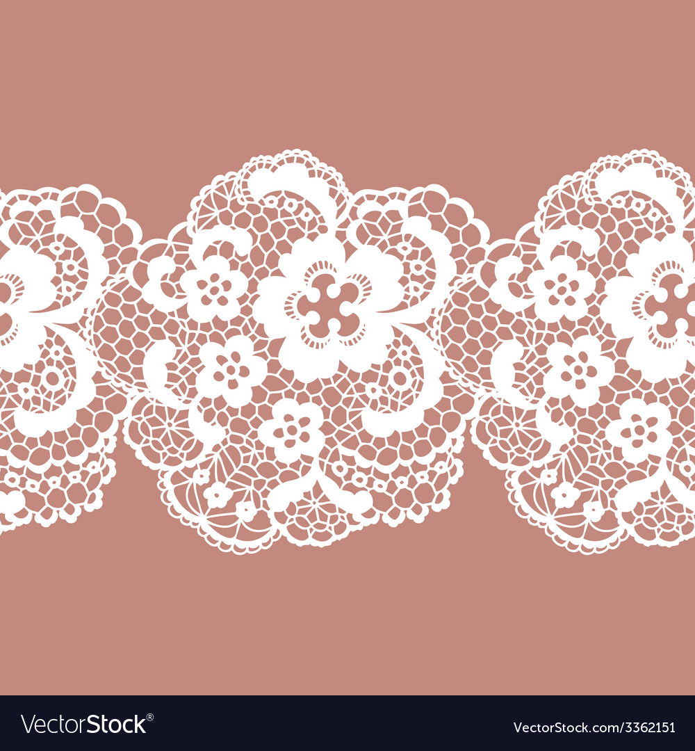 Lacy vintage trim vector | Price: 1 Credit (USD $1)