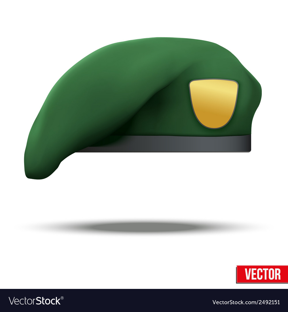 Military green beret army special forces vector | Price: 1 Credit (USD $1)