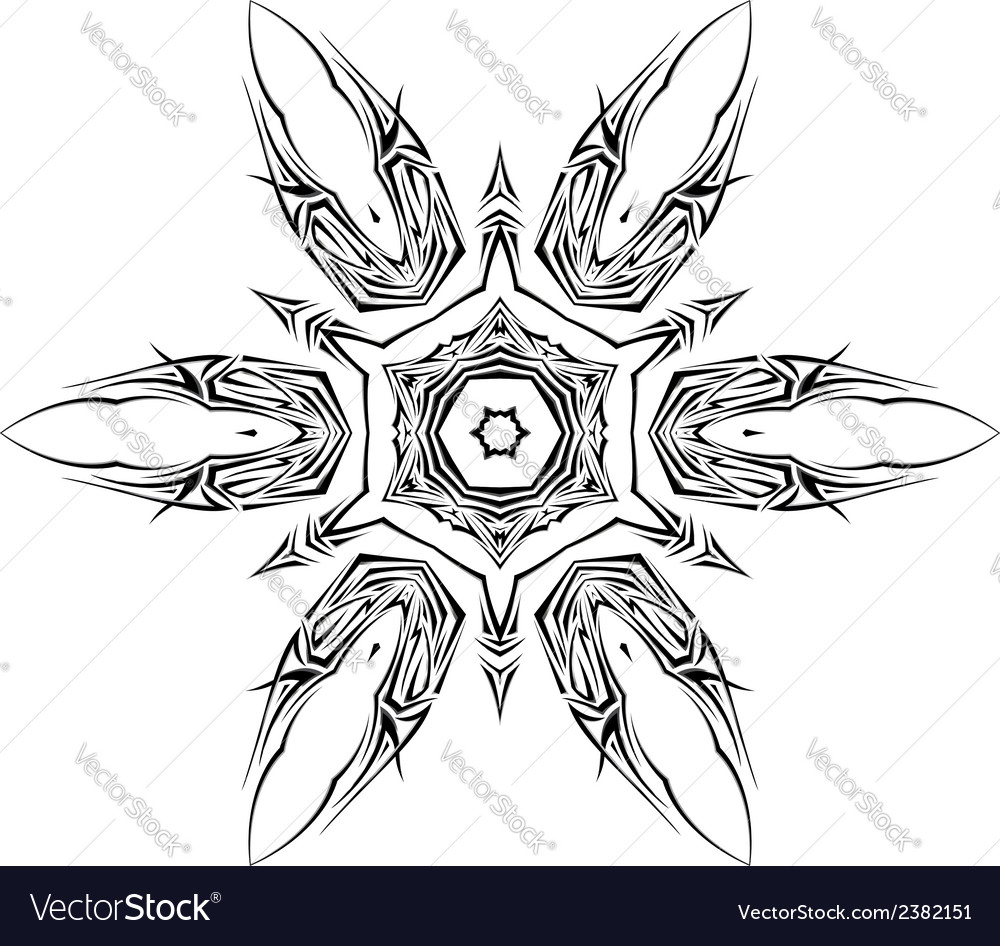 Tatto shuriken vector | Price: 1 Credit (USD $1)
