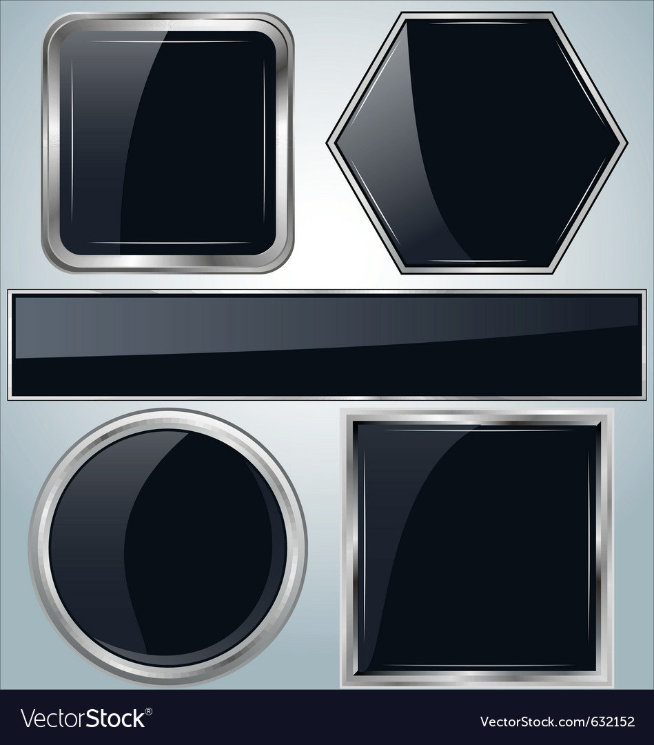 Glossy metal background vector | Price: 1 Credit (USD $1)