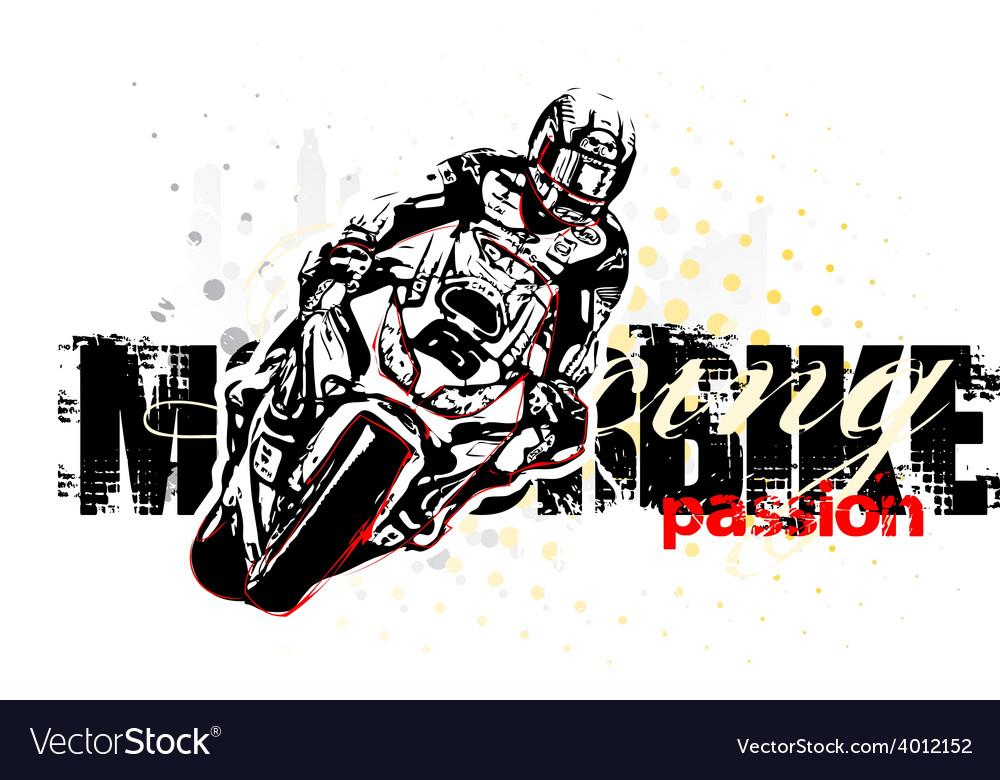 Motorbike vector | Price: 3 Credit (USD $3)