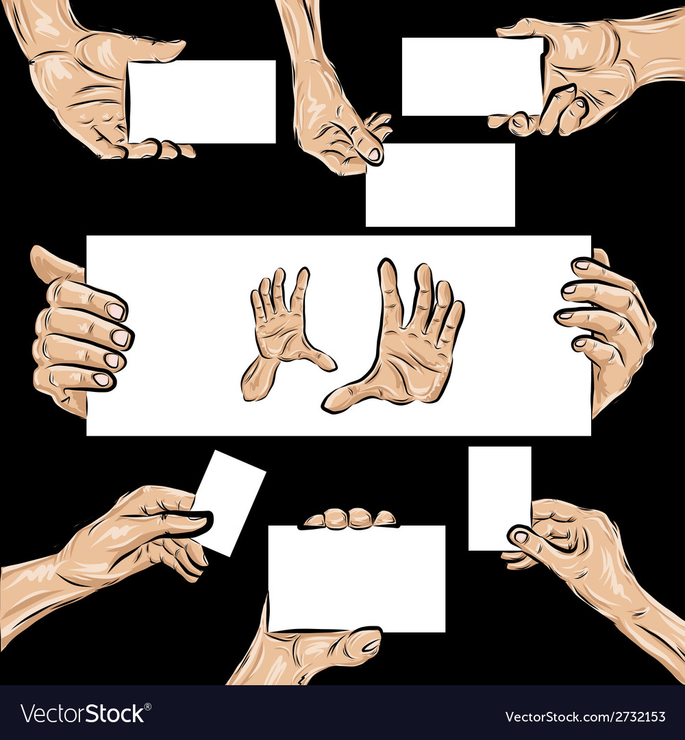 Holding hands set vector   Price: 1 Credit (USD $1)
