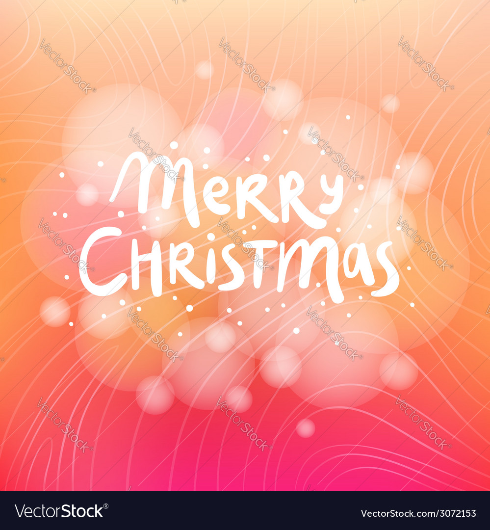 Merry christmas colorful background card vector | Price: 1 Credit (USD $1)