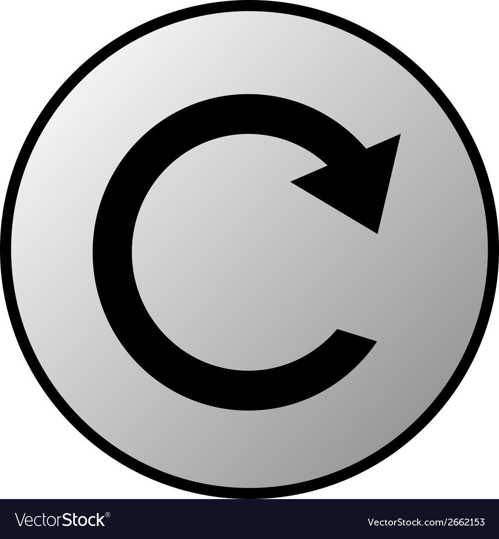 Repeat button vector | Price: 1 Credit (USD $1)