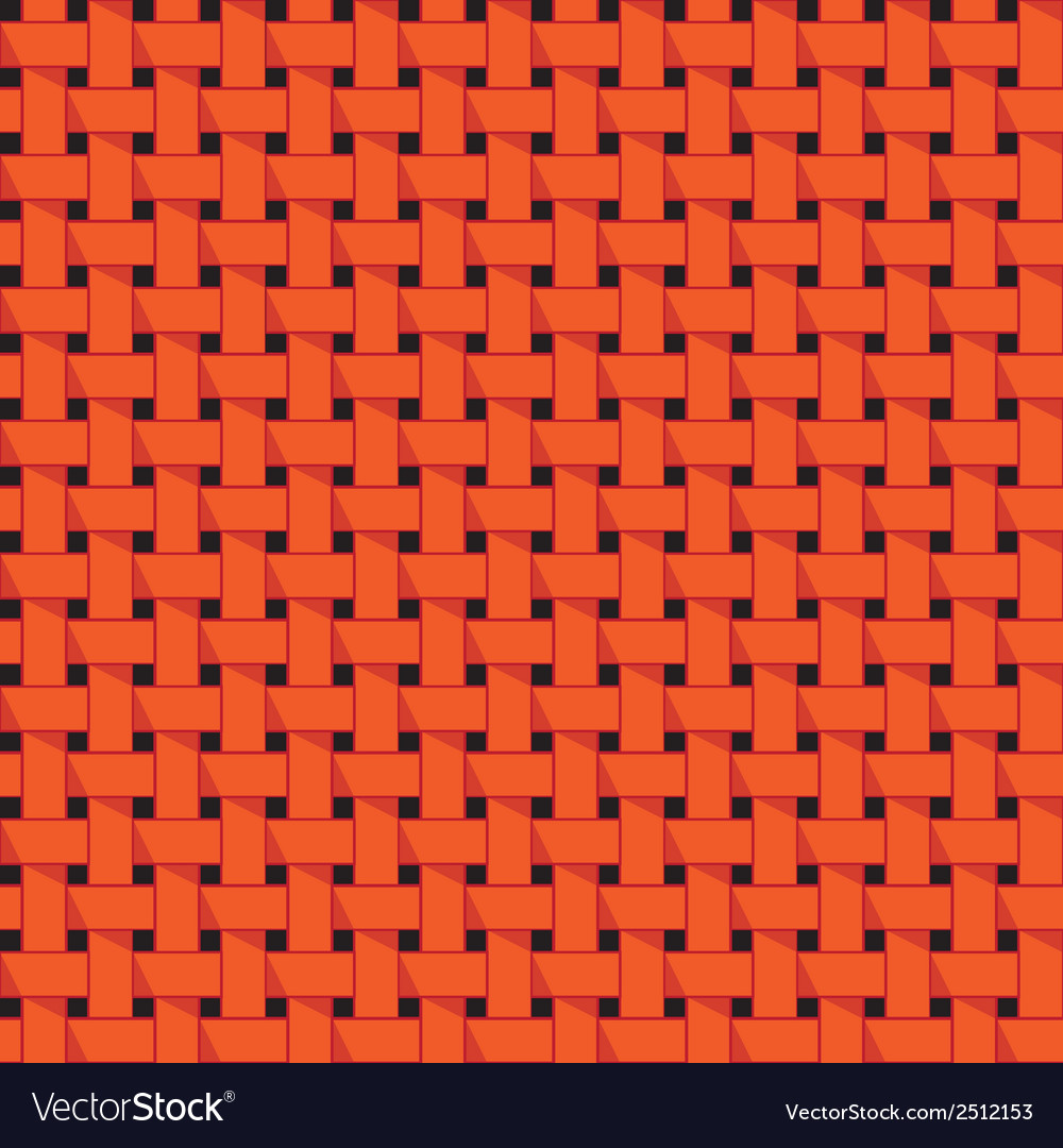 Weaving basket seamless abstract pattern vector | Price: 1 Credit (USD $1)