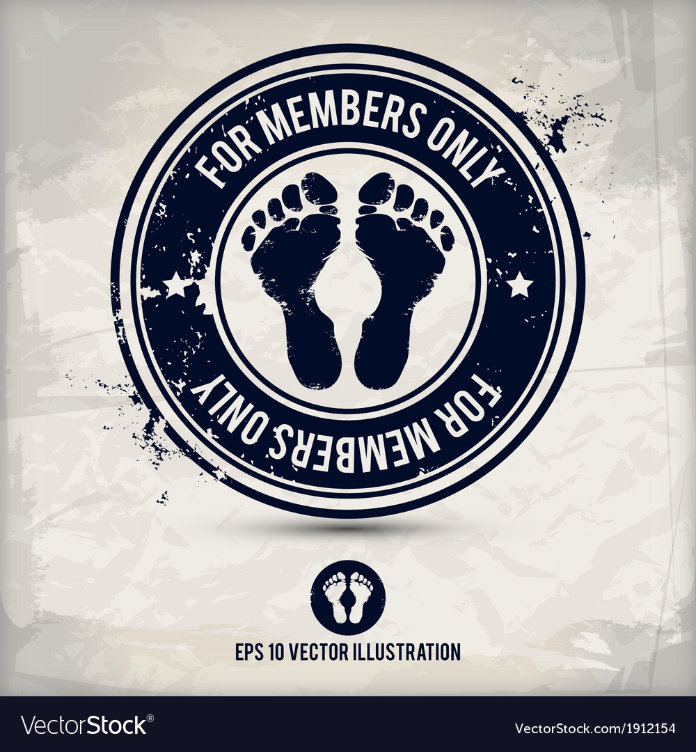 Alternative membership stamp vector | Price: 1 Credit (USD $1)
