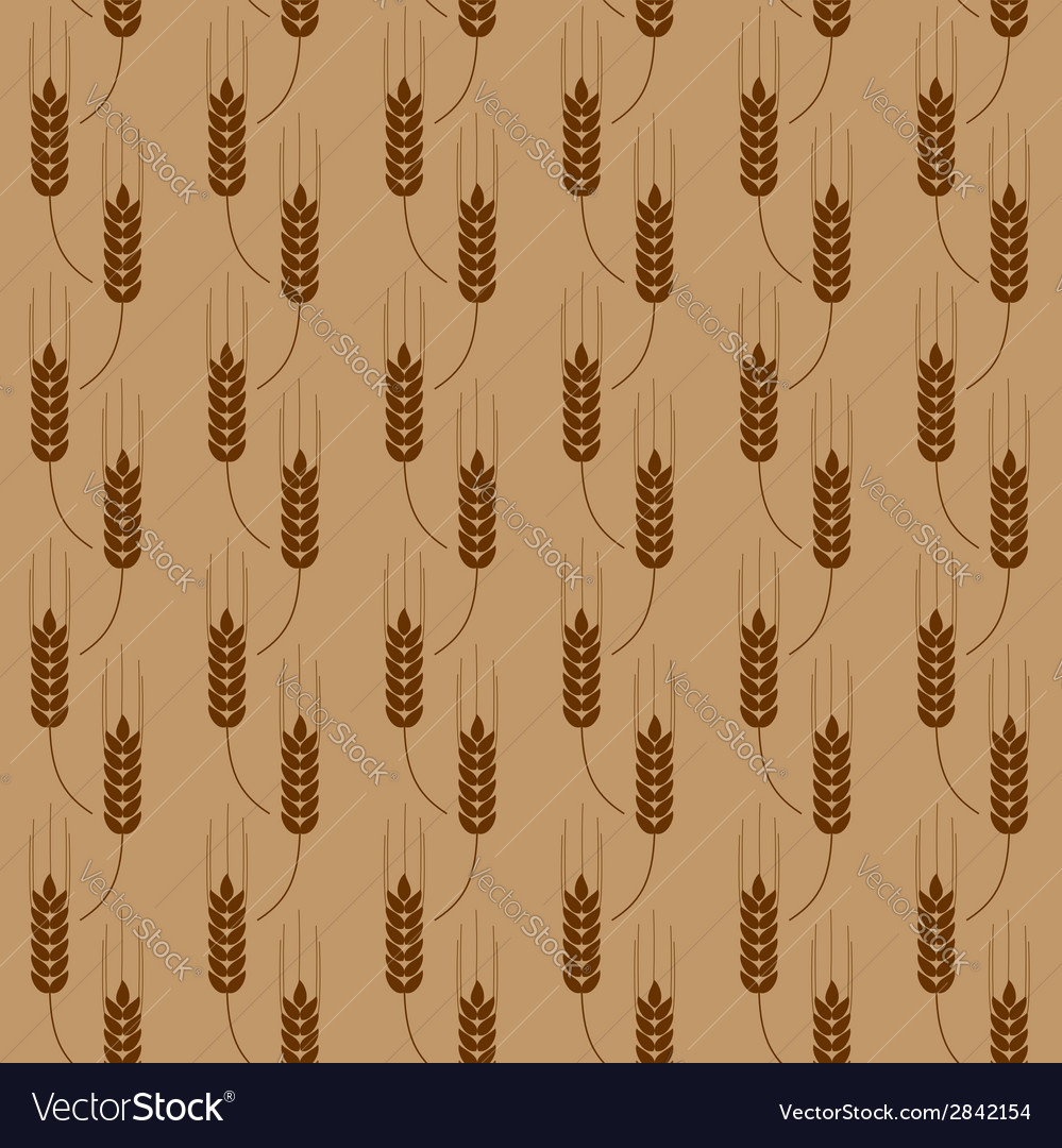 Pattern with wheat vector | Price: 1 Credit (USD $1)