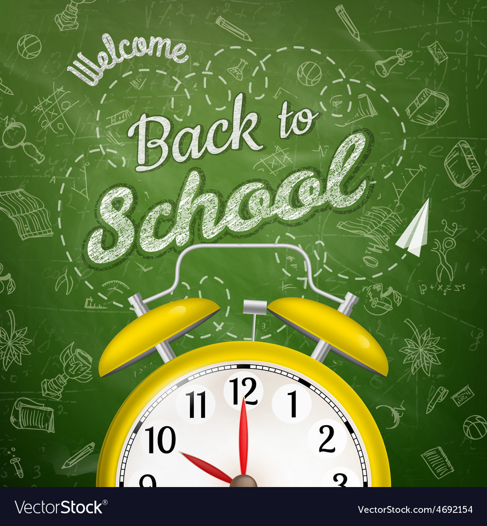 Welcome back to school eps 10 vector   Price: 3 Credit (USD $3)