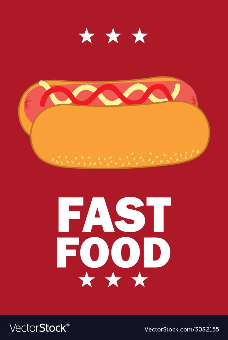 Fast food design vector   Price: 1 Credit (USD $1)