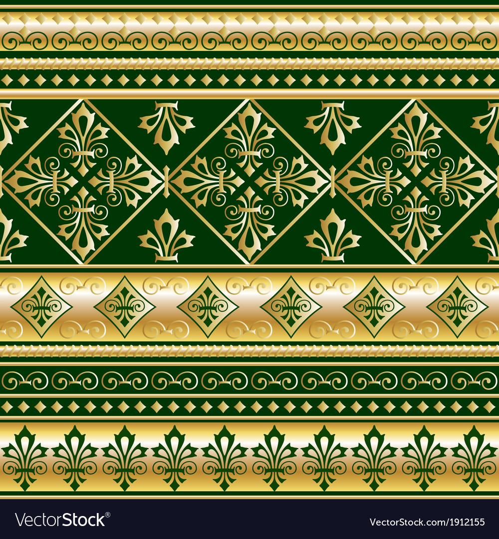 Gold royal ornament vector | Price: 1 Credit (USD $1)