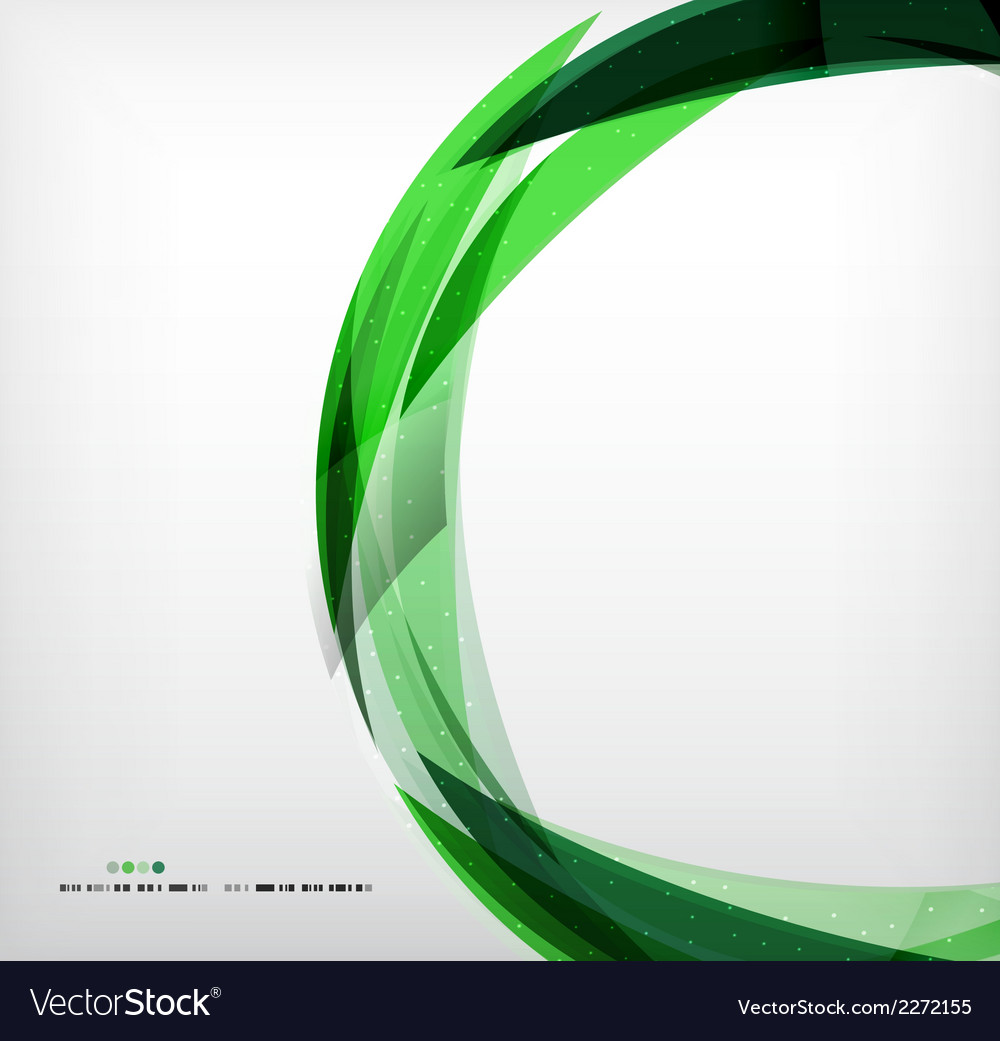 Green ring - business abstract bubble vector | Price: 1 Credit (USD $1)