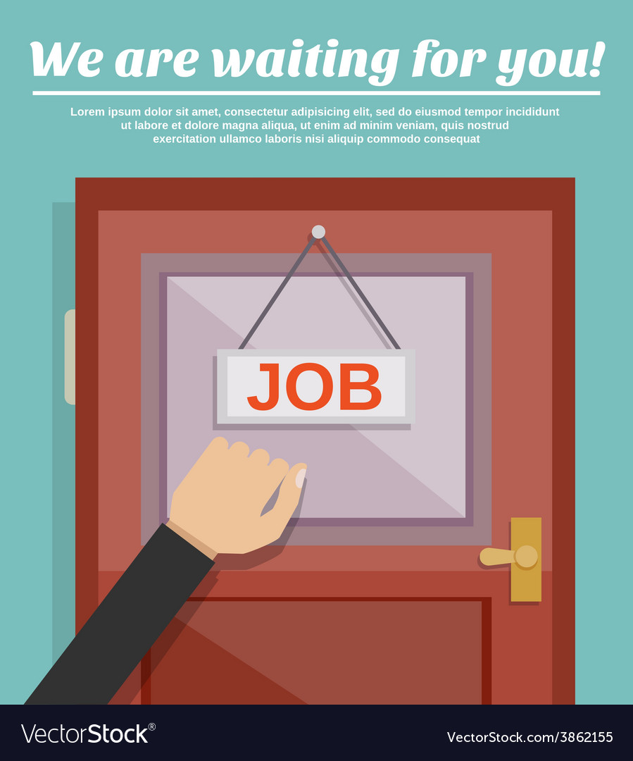 Job search concept vector   Price: 1 Credit (USD $1)