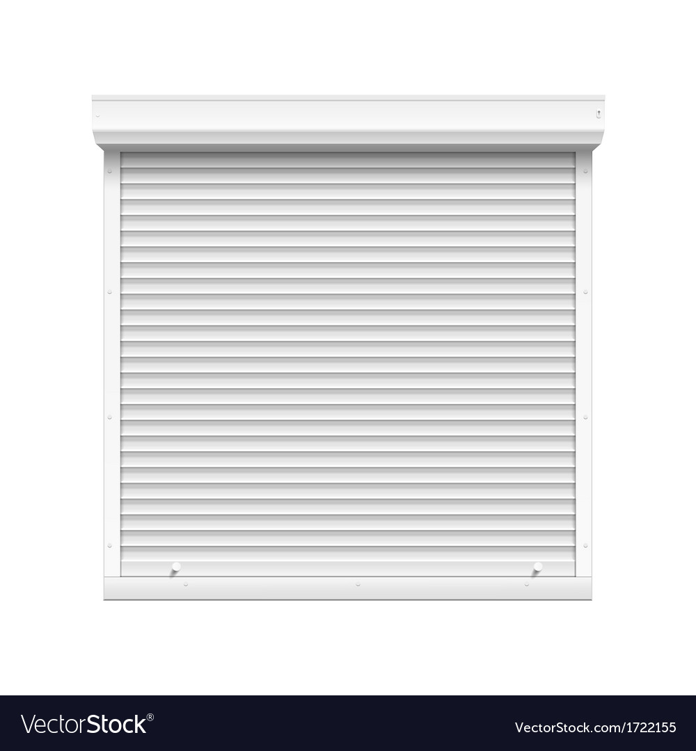 Window with rolling shutters vector | Price: 1 Credit (USD $1)