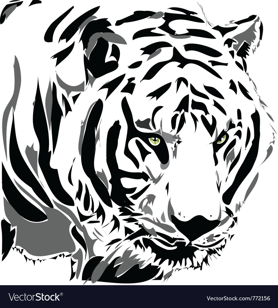 Tiger vector | Price: 1 Credit (USD $1)