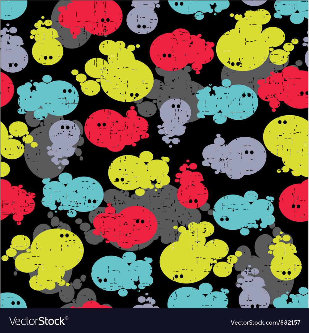 Bubble creature vector | Price: 1 Credit (USD $1)