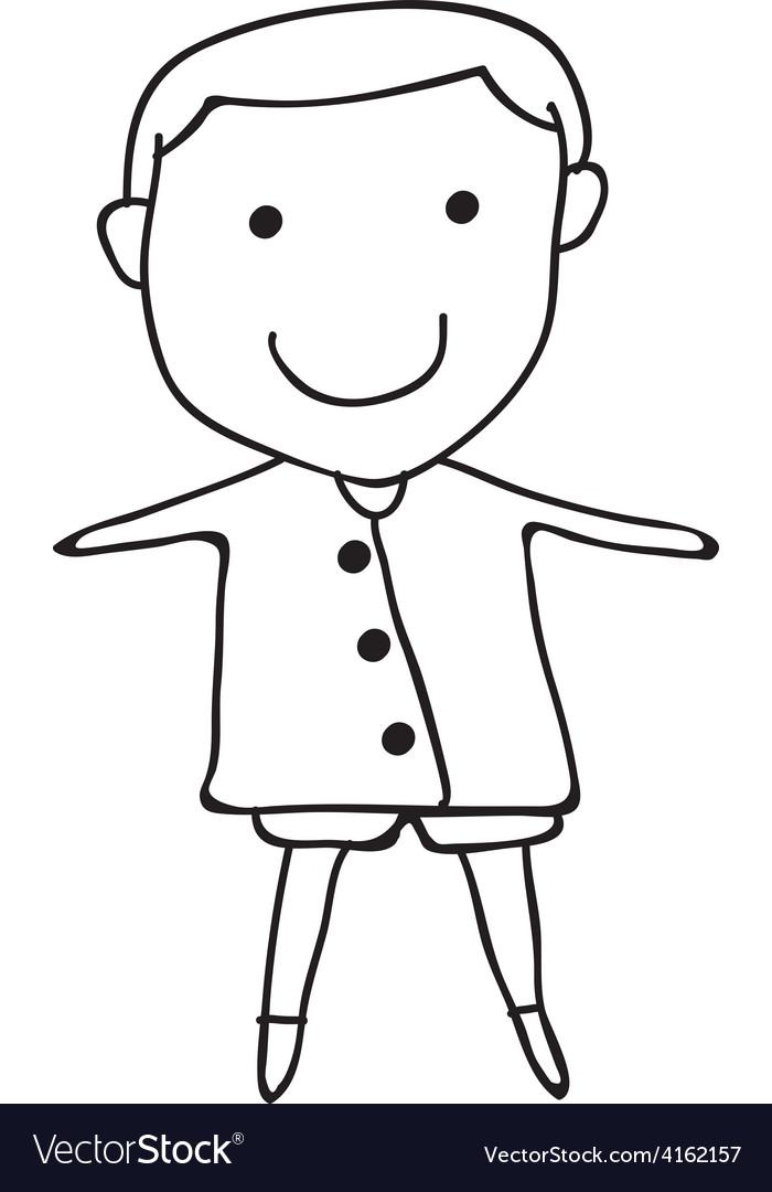 Cartoon concept happy people vector | Price: 1 Credit (USD $1)