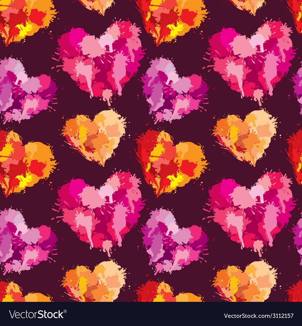 Heart klaksa seaml 380 vector | Price: 1 Credit (USD $1)
