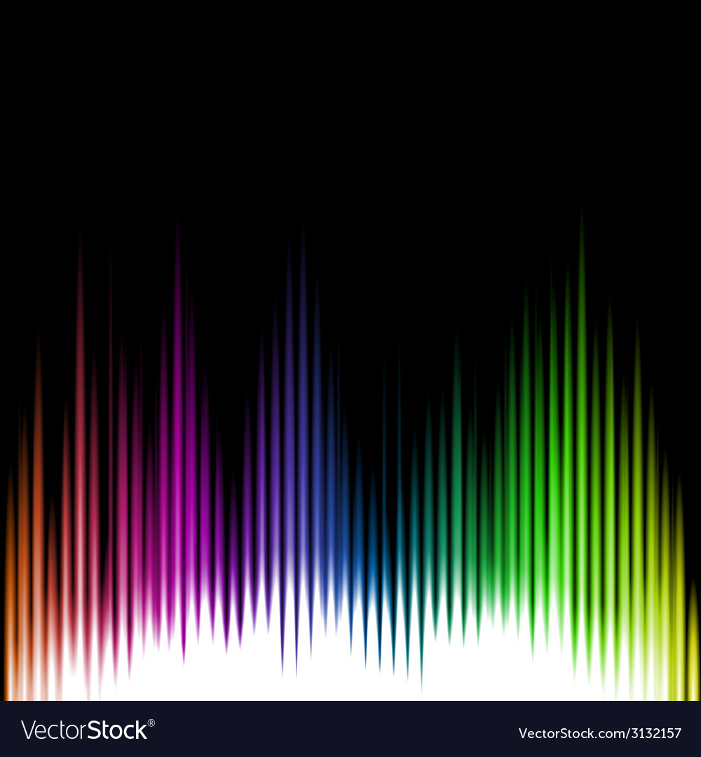 Sound equalizer wave abstract background vector | Price: 1 Credit (USD $1)