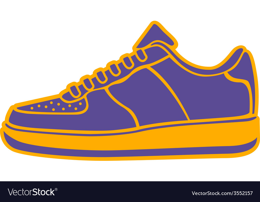 Speeding running shoe icons color variations logo vector | Price: 1 Credit (USD $1)