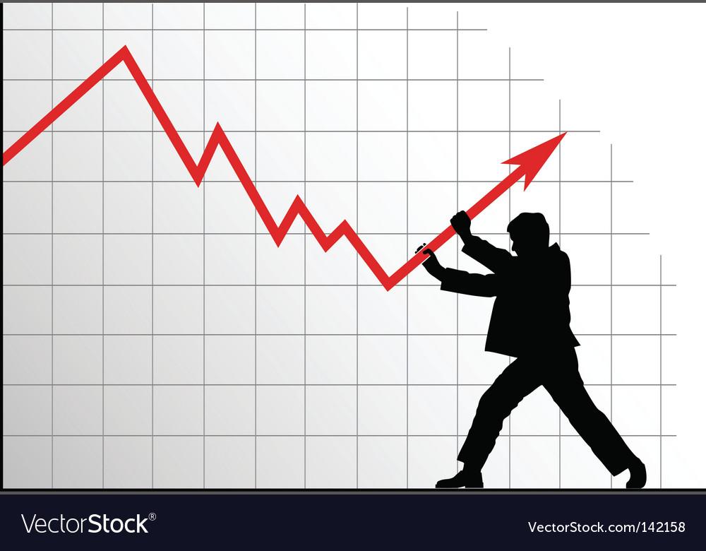Anti crisis concept vector | Price: 1 Credit (USD $1)