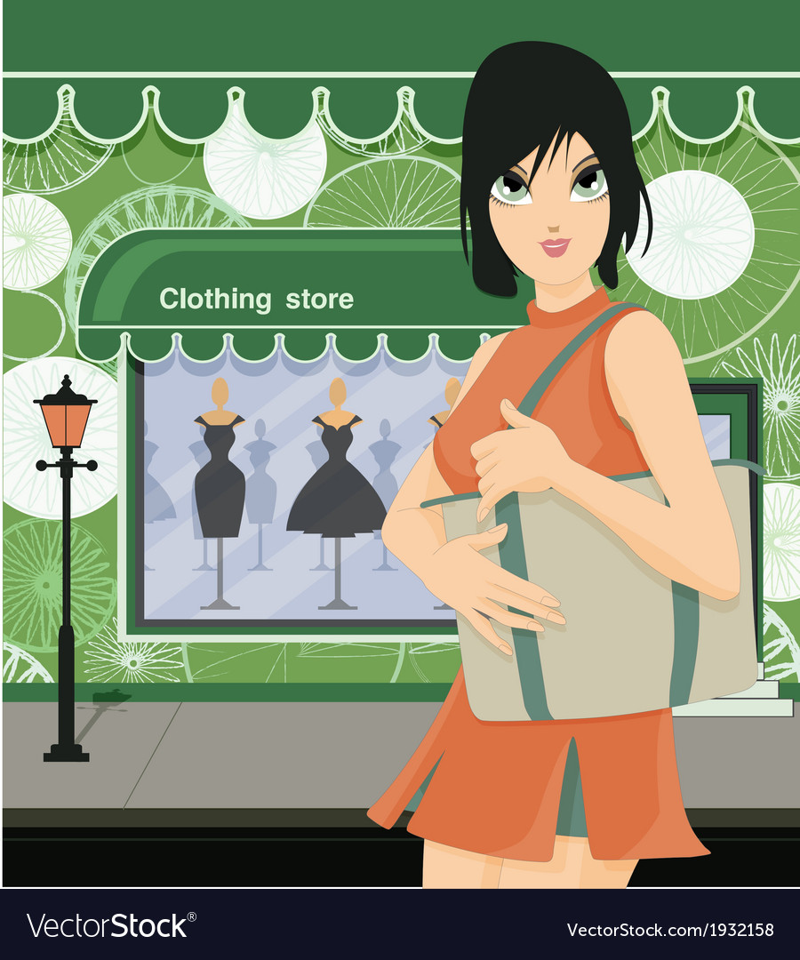 Clothing store vector | Price: 3 Credit (USD $3)