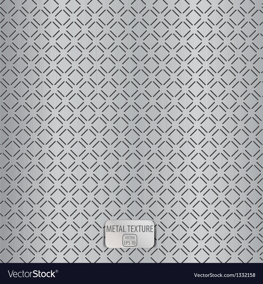 Realistic metal texture 3 vector | Price: 1 Credit (USD $1)