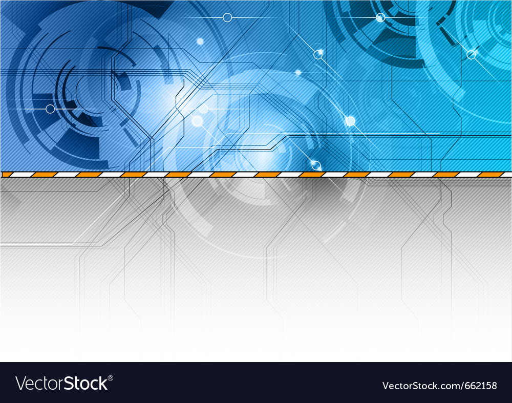 Tech background in the blue color vector | Price: 1 Credit (USD $1)