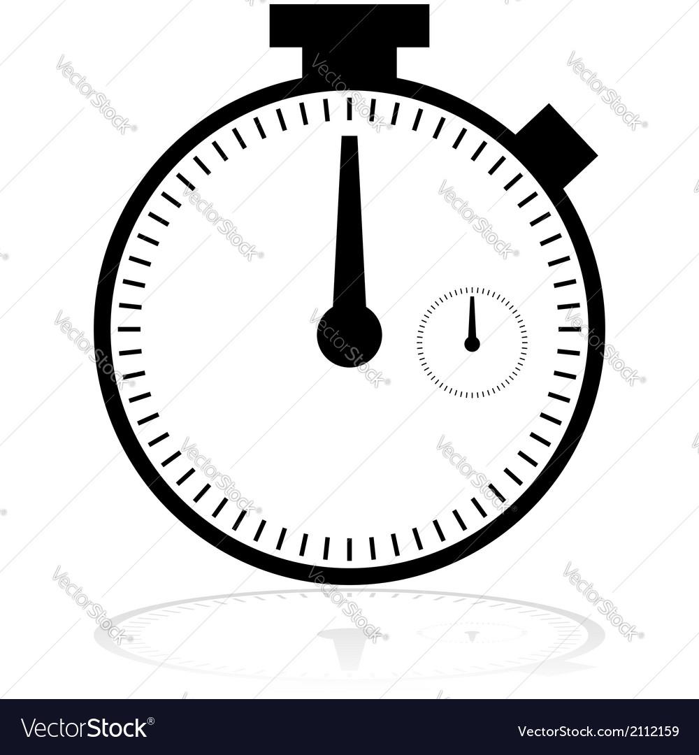 Chronometer icon vector   Price: 1 Credit (USD $1)