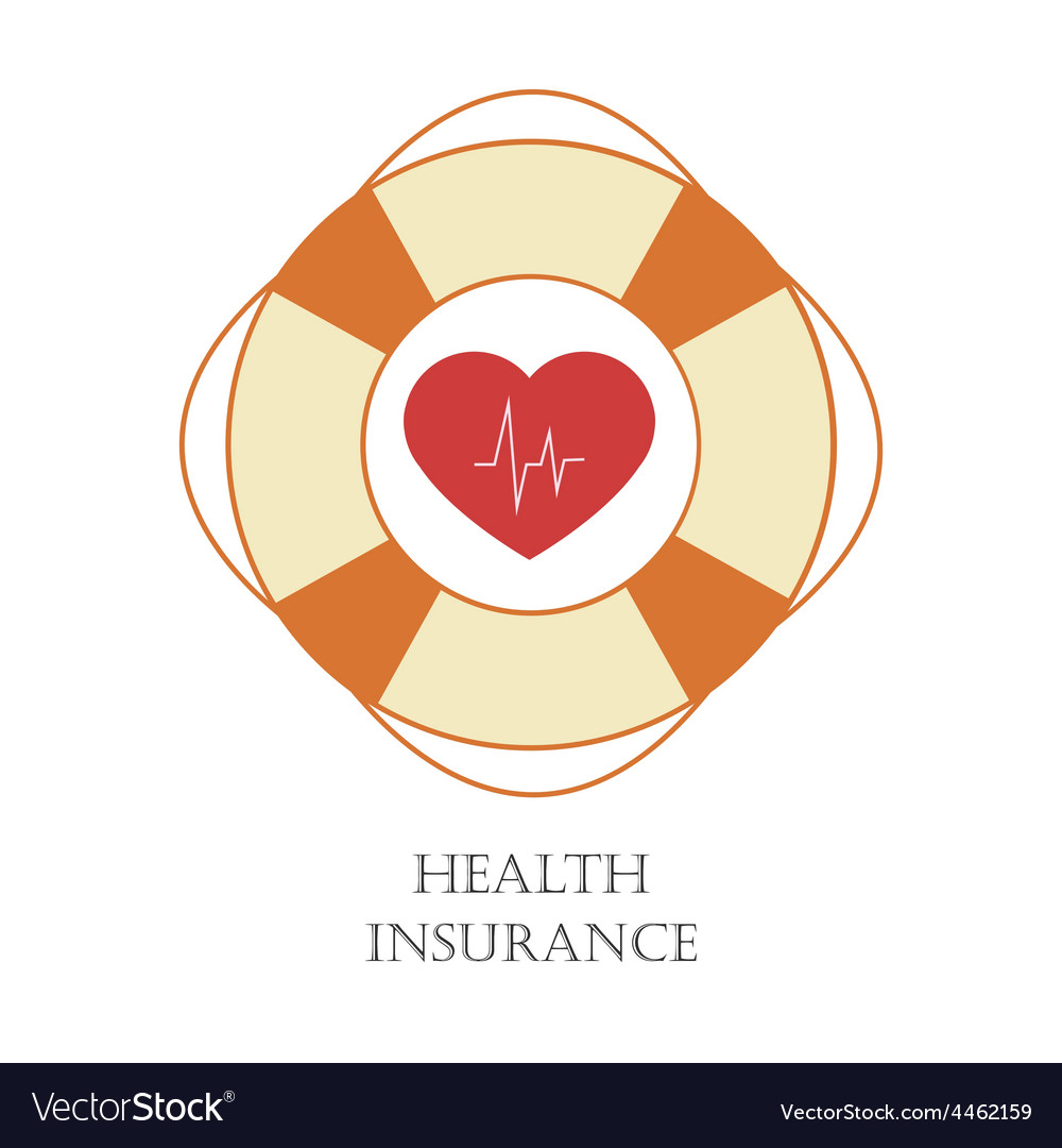 Health insurance sign vector | Price: 1 Credit (USD $1)