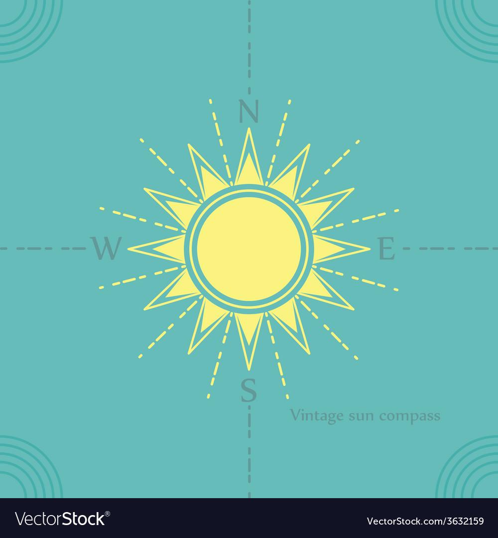 Solar compass vector   Price: 1 Credit (USD $1)