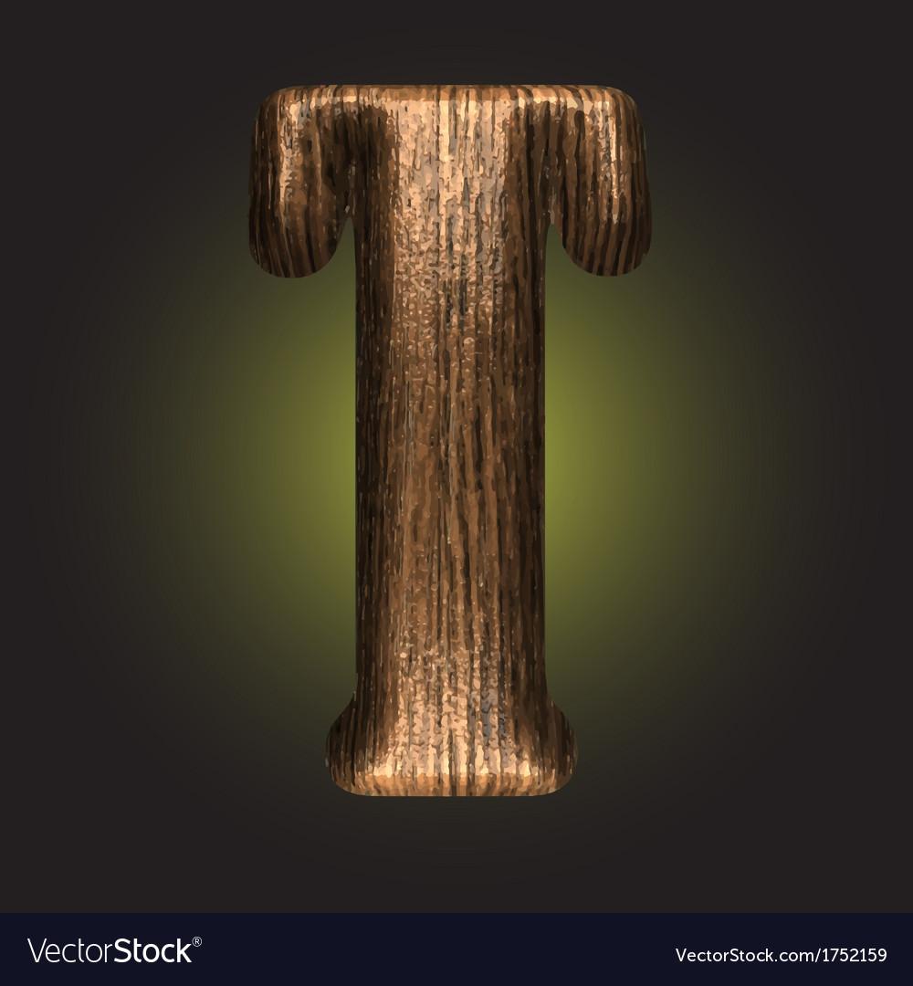 Wooden figure vector | Price: 1 Credit (USD $1)