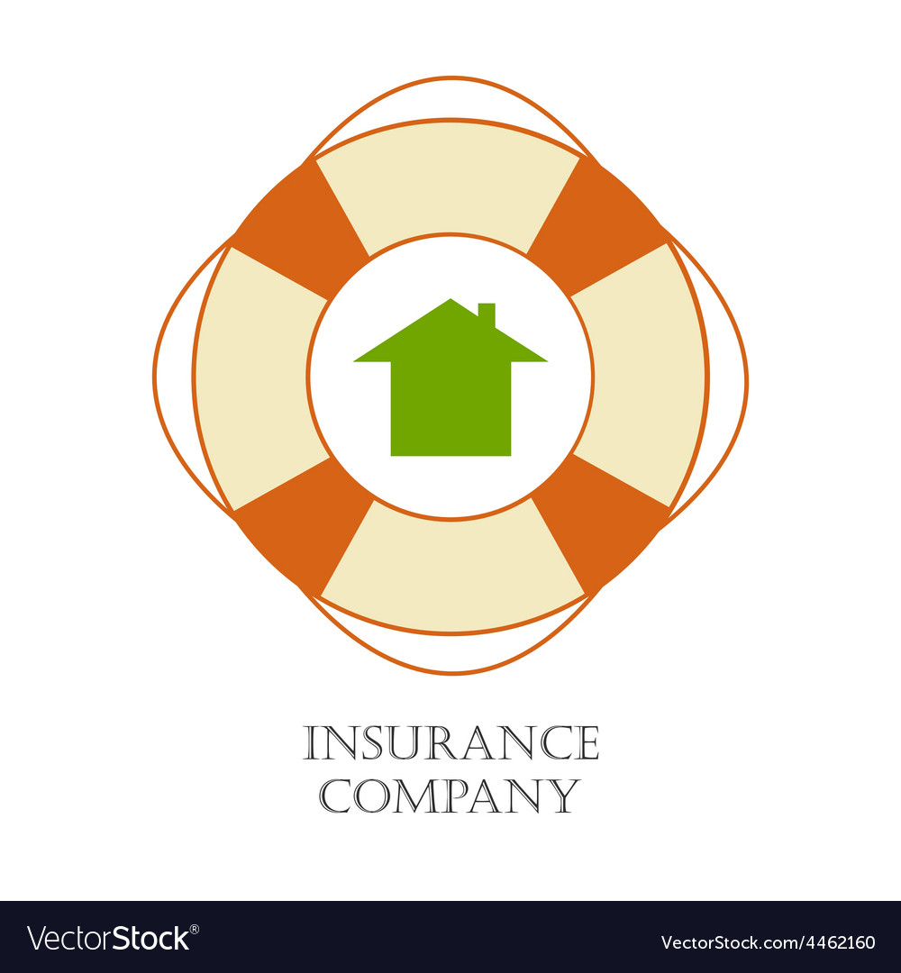 Insurance company sign vector | Price: 1 Credit (USD $1)