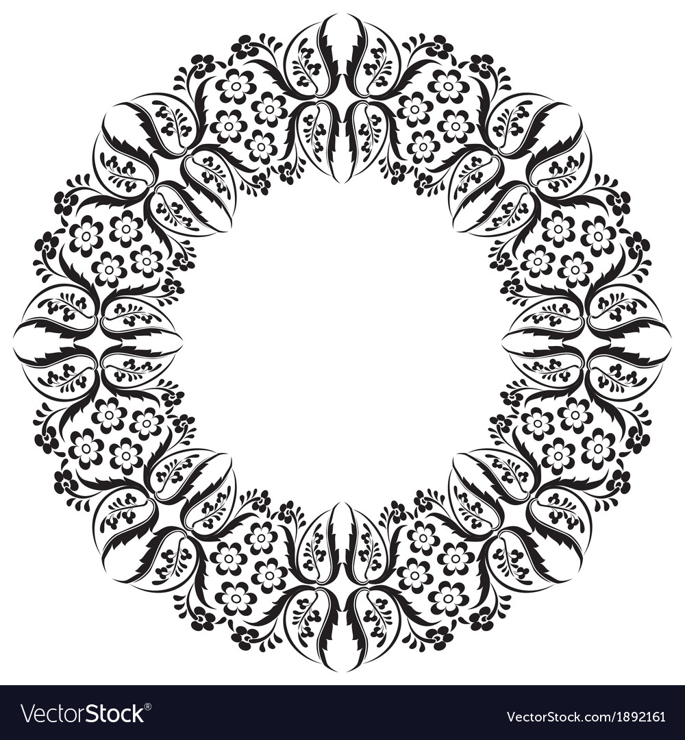 Black oriental ottoman design thirteen vector   Price: 1 Credit (USD $1)