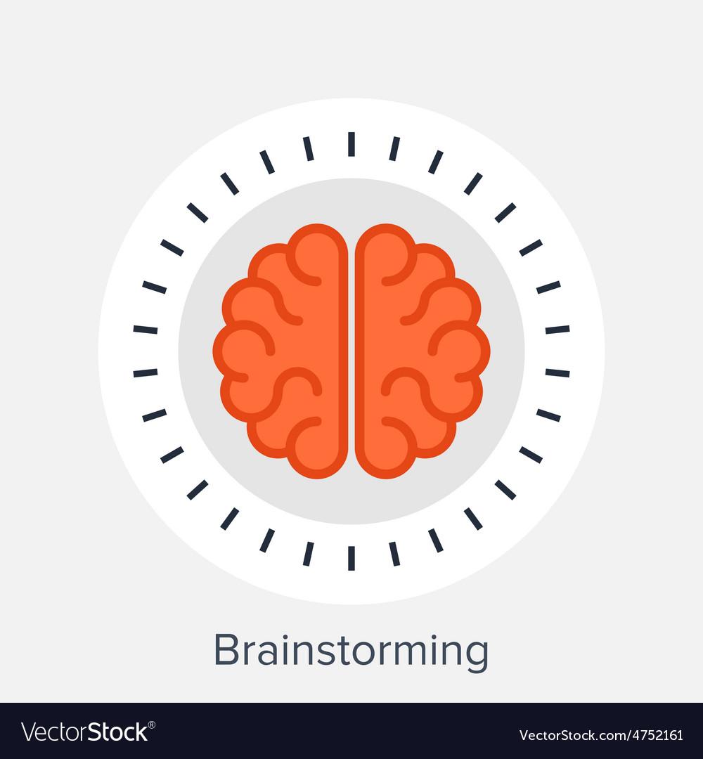 Brainstorming vector | Price: 1 Credit (USD $1)